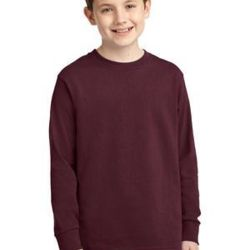 Youth Long Sleeve 5.4 oz 100% Cotton T Shirt Thumbnail